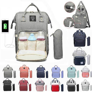 Travel Backpack Data-Connection LEQUEEN Baby-Bag Maternity-Nappy-Bag Large-Capacity Designer