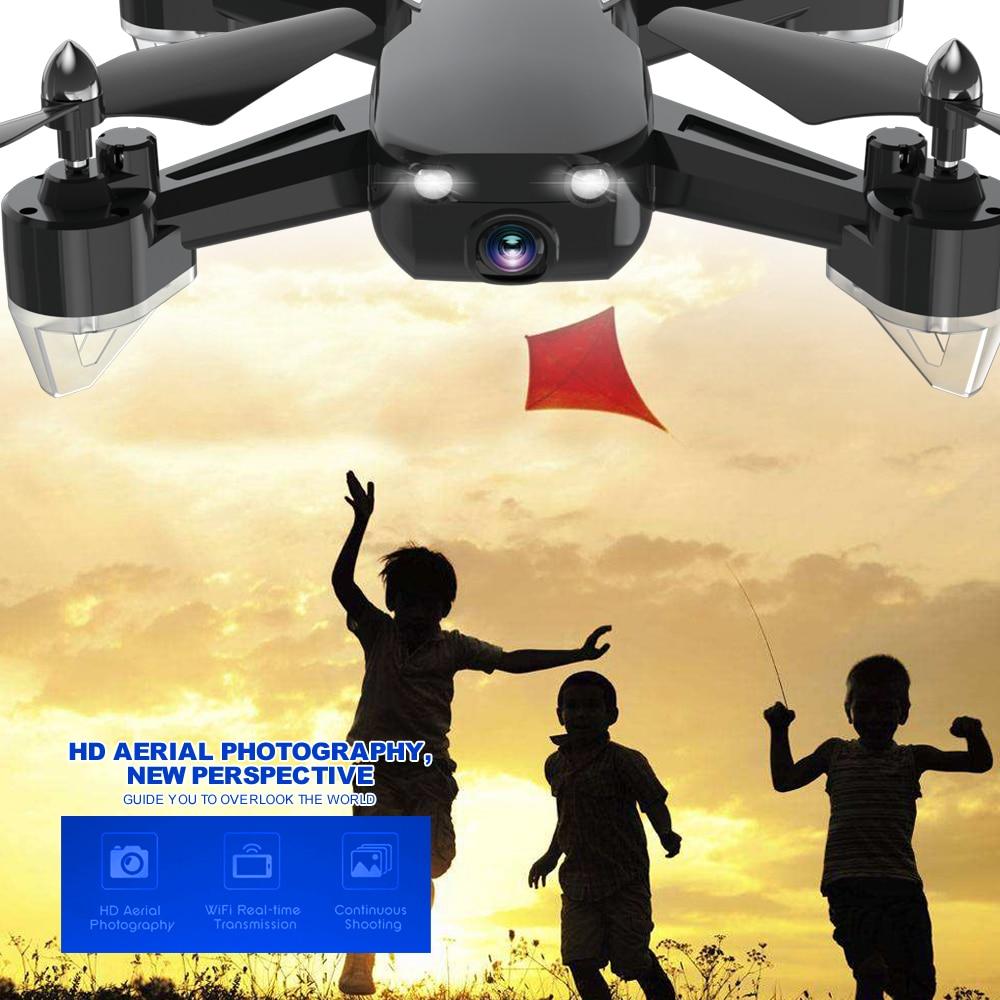 Rc hélicoptères Drone vidéo tir Drones jouet HD caméra quadrirotor amusant télécommande jouets Drone pour enfants fête des enfants cadeau - 6