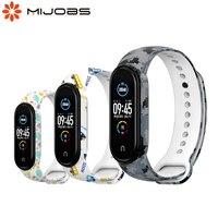 Correa de silicona para reloj inteligente, pulsera de silicona para Xiaomi Band 5, 4, 3 y 2