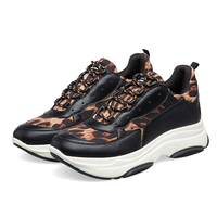 Leopard sneakers 2019 Fashion Women Sneakers Black Road Running Shoes female Trainers Causal Shoes Woman Brand Sports Shoes