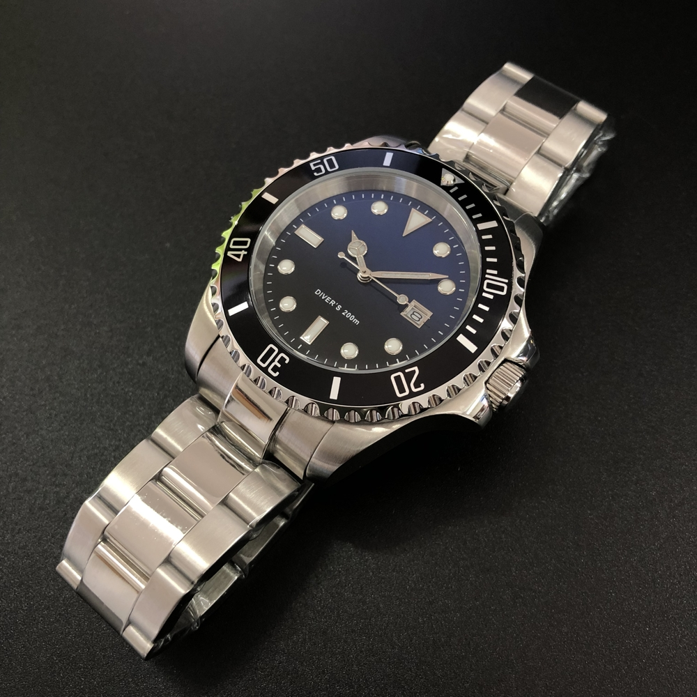 STEELDIVE 1987 Plus 44mm Mechanical Watch Men Big Japan Original 8215 Automatic Watch Sapphire C3 Luminous Dive Watch 200M Man