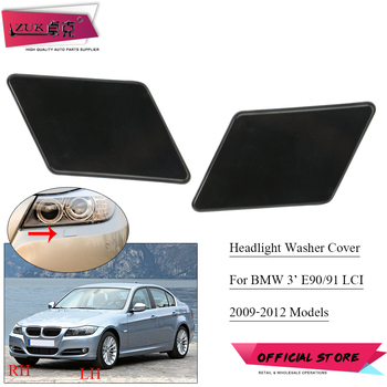 ZUK Headlight Headlamp Cleaning Washer Nozzler Cover Cap For BMW 3 Series 3` E90 E91 2009 2010 2011 2012 61677211209 61677211210 image