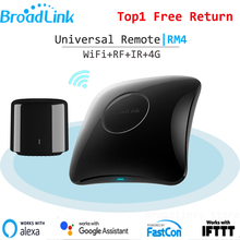 Broadlink FastCon RM Pro RM4 RM4C Mini IR+RF+4G Universal Intelligent Smart Home Remote Control Controller For Google Home Alexa