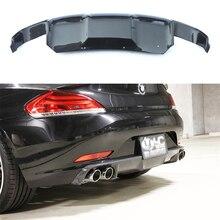 Car Accessories Carbon Fiber Rear Diffuser Bumper Guard Protector Skid Plate Bumper Cover For BMW E89 Z4 2009-2013 1Pcs цена 2017