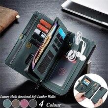 กระเป๋าหนังสำหรับiPhone 12 11 Pro XS Max XR X SE 2020 8 7 Plusสำหรับsamsung Note 20 Ultra 10 S20 A51 A71 Coque