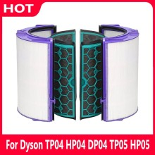 Carbon Filter for Dyson TP04 HP04 DP04 TP05 HP05 Pure Cool Hepa Purifier Sealed Two Stage 360 Degree Filter System Accessories