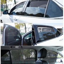 For Toyota Hiace-Standard/Width/200 Will Isis / Magnetic Special Curtain Window SunShades Mesh Shade Blind Fully Covered(China)