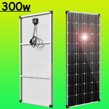 Flexible solar panel 300w 150w 12v kit portable solar charger for car RV boat caravan 5v usb for phone 1000w home outdoor system 20w 12v mono solar panel battery charging kit charger controller boat caravan home outdoor