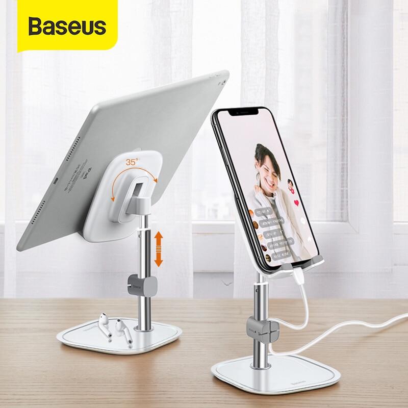 Baseus Telescopic Desktop Phone Holder For Tablet Pad Desktop Holder Stand For Cell Phone Table Holder Mobile Phone Stand Mount|Phone Holders & Stands| |  - title=