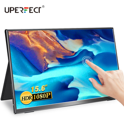 UPERFECT Portable Monitor Touchscren 15.6 Inch Mobile Display Game sRGB 100% Color Gamut Thin and Light Wide Viewing Angle