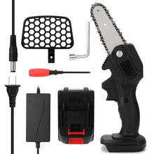 Electric Saws Lithium-Battery Pruning-Saw Logging Woodworking Minin Garden Rechargeable
