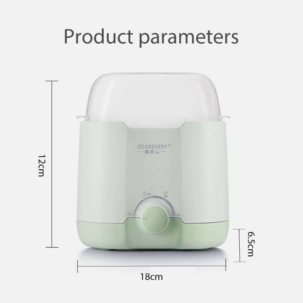 NEW Baby Feeding  Bottle Warmer And & Bottle Sterilizer Double Bottle Warmer Intelligent Thermostat  fast warm milk & sterilizer 5
