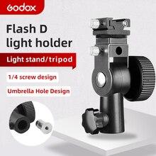 GODOX soporte de montaje para paraguas Speedlite, Zapata para Flash tipo D
