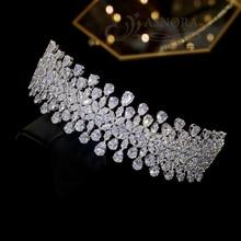 Coiffure de mariage, accessoires de cheveux, couronne en cristal, accessoires de mariée, pour fête danniversaire, accessoires de cérémonie de remise des diplômes