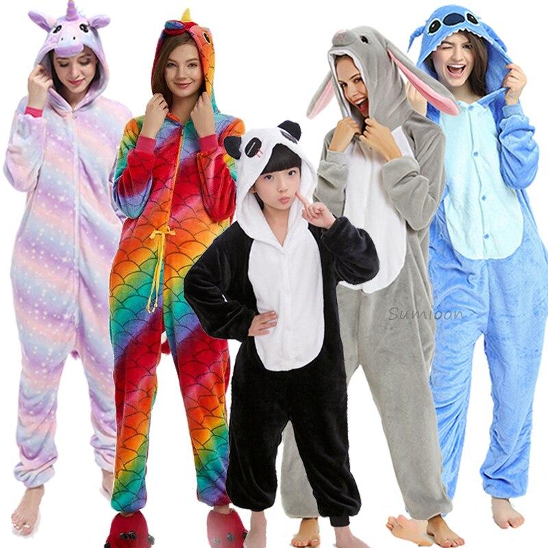 Pijamas de invierno de unicornio para adultos Kigurumi Stitch Panda conejo Lobo pijamas de mujer Onesies Anime disfraces mono 1 unidad, 30/40/60/80 CM, lindos juguetes de peluche de león marino, encantador sello de Animal marino, almohada novedosa 3D, regalo de cumpleaños para niños y bebés