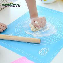 Baking-Mat Dough-Pad Pastry-Board Bakeware-Liners Kneading Silicone 50cm with Scale-Flour