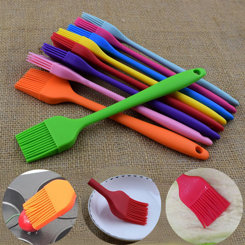 Butter Basting Bakeware Pastry Grill BBQ Brush Baking Silicone Sweep