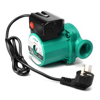 100W Booster Pump Circulation Pump Accessories With Switch Heating System Circulation Pumps 220V Hot Water Air Heating