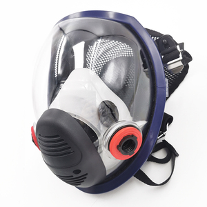 Image 3 - New Arrival Anti Gas Mask Chemical Industrial Painting Spraying Pesticides Respirator Filter Dust Full Face Mask Replace 3M 6800