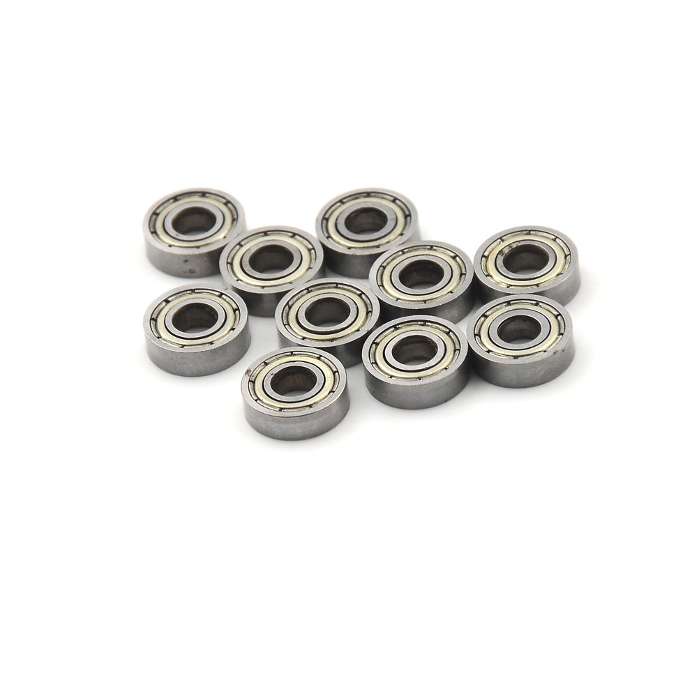 10pcs New Miniature 695ZZ 695-2Z 695-Z 695 Skate board bearing 5x13x4 mm