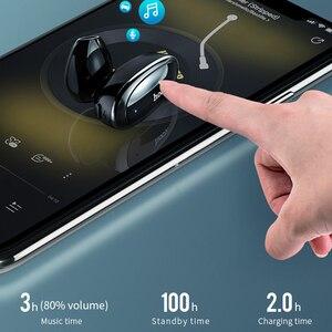 Image 4 - HOCO Invisible אפרכסת מוסיקה אוזניות Bluetooth ב אוזן דיבורית מיני אלחוטי אוזניות עם מיקרופון עבור Xiaomi 10 iPhone X