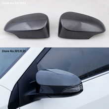 Car rear view Rearview Side glass Mirror Cover trim frame Side Mirror Caps Cover  For Toyota Corolla 2017 2018 2019 Accessories цена и фото