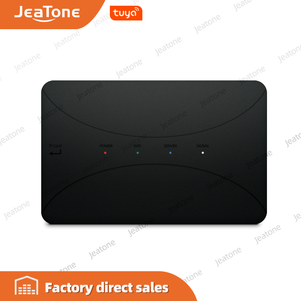 Jeatone Wireless WiFi IP BOX For Analog Video Doorphone Intercom System Control 3G 4G Android IPhone Tuya APP On Smart Phone