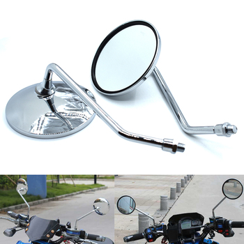 Universal Round Degree 8mm 10mm Motorcycle Rearview Mirror for BMW K1600 K1200R K1200S R1200R R1200S R1200ST R1200GS image