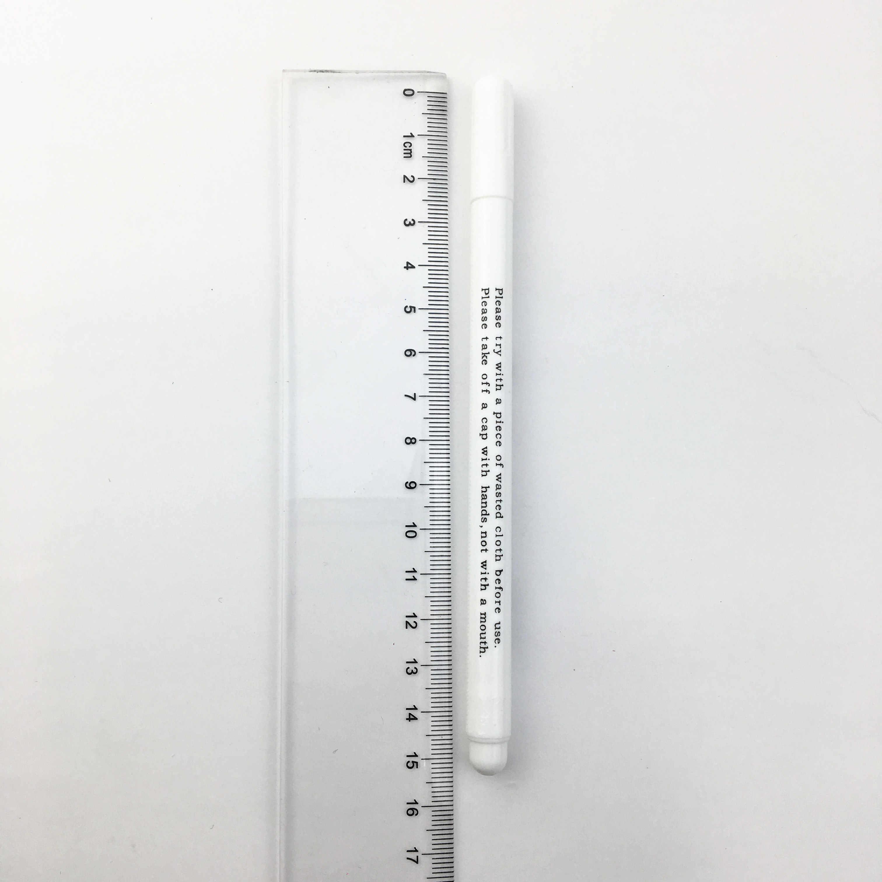 4pc水溶性ペンクロスステッチ水消去可能な鉛筆生地マーキングペンdiyファブリックマーカー縫製ツール布アクセサリー。Q