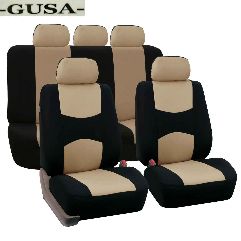 Set Covers Auto-Seat-Protector Lancer-Accessories Grey Mitsubishi Linen CARTAILOR Custom
