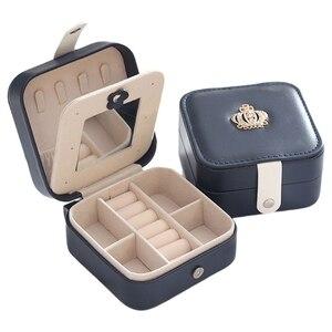 Portable Travel Leather Jewelr