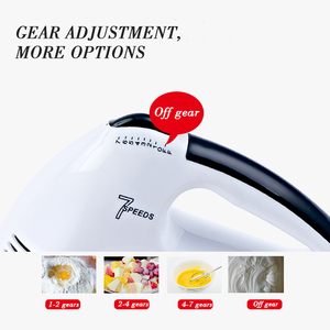 Image 5 - saengQ 7 Speed Electric Food Mixer Table Stand Cake Dough Mixer Handheld Egg Beater Blender Baking Whipping Cream Machine