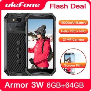 "Image 1 - Ulefone Armor 3W Robuuste Smartphone Android 9.0 IP68 5.7 ""Helio P70 6G + 64G 10300Mah mobiele Telefoon 4G Dual Sim Mobiele Telefoon Android"