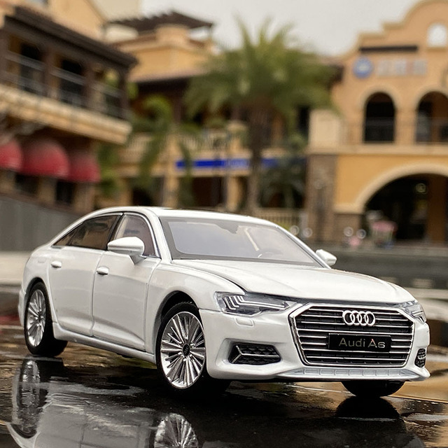 1:32 AUDI A6 Alloy Car Diecasts & Toy Vehicles Toy Car Metal Collection Model Car Model High Simulation Toys For Children Gifts 2
