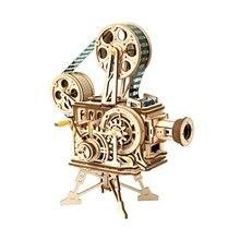 Diy механическая модель игрушка для боя 3D деревянный набор для моделирования Игрушка детский день подарок детский деревянный для взрослых модель