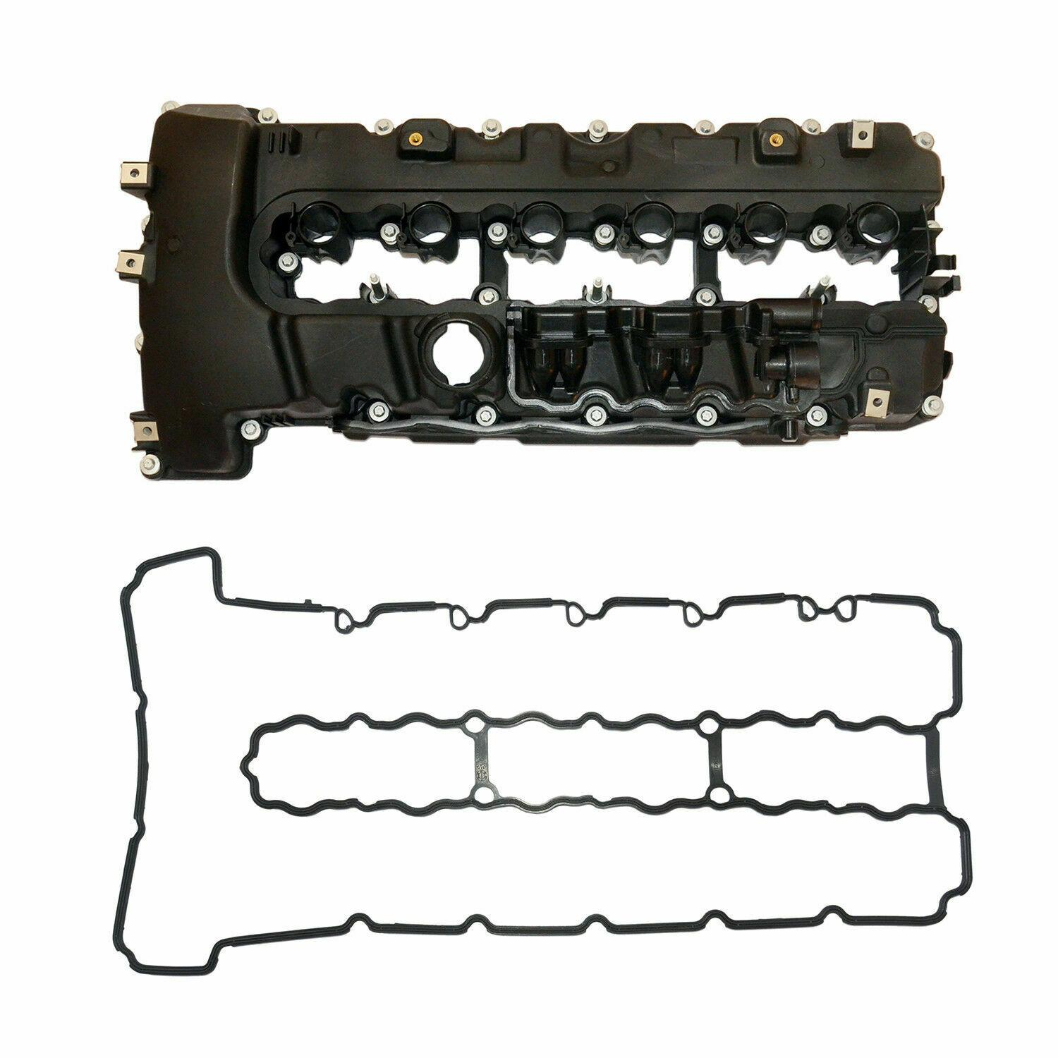 AP03 For <font><b>BMW</b></font> N54 F02/E70 135i 335i 535i 740i <font><b>Engine</b></font> Cylinder Valve <font><b>Cover</b></font> w/Gasket Set 11127565284 image