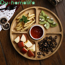 Многофункциональная креативная керамическая тарелка для фруктов