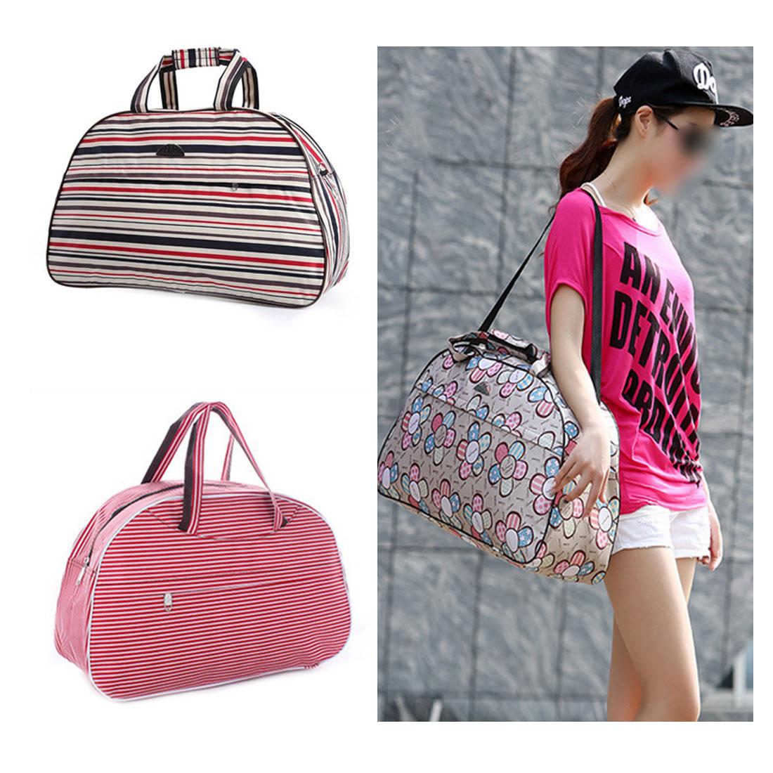 Men Luggage Duffle Bag New Flower Print Female HandBag 41cm*28cm*16cm Cheap Large Capacity Women Travel Bag Tote