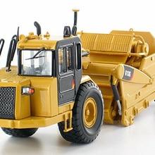 Коллекционная Norscot 1/50 масштаб 613 г колесный трактор скребок модель сплав литья под давлением Кот 55235 грузовик игрушки для детей праздничные подарки