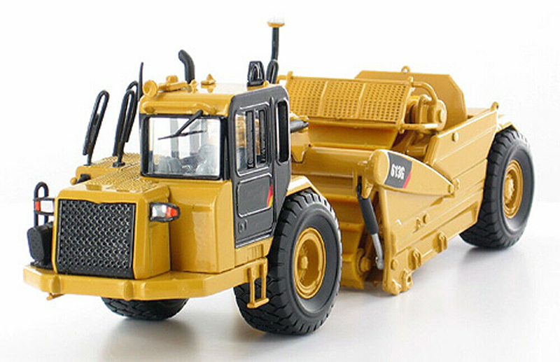 Collectible Norscot 1/50 Scale 613G Wheel Tractor Scraper Model Alloy Diecast  Cat 55235 Truck Toys For Kids Holiday Gifts