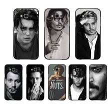 NBDRUICAI Johnny Depp Coque  Customer High Quality Phone Case For Samsung Galaxy J7 J8 J3 J4 J5 J6 Plus 2018 Prime for samsung galaxy j3 j5 j7 j8 j6 j4 plus 2017 2018 funda coque capa luxury cute marvel hero avengers etui phone case spider man
