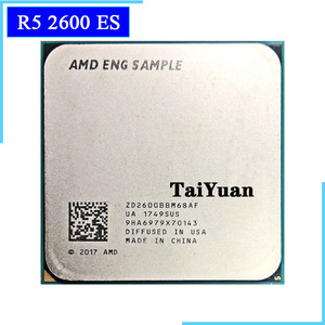 AMD 2600 Ryzen 5 2600 es R5 2600 es 3.4 GHz Six-Core Twelve-Core 65W CPU Processor ZD2600BBM68AF Socket AM4