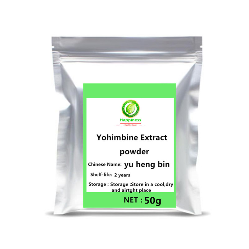 2020 High quality Yohimbe Bark Extract powder festival top Nutrition supplement men increase sexual powers tools free shipping. image