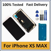 AAA New LCD For iPhone XS Max LCD Display Touch Panel Digitizer Assembly Replacement With 3D Touch Display For iPhone XS Max