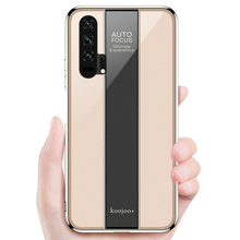 Honor 20 Luxury Plating Bumper Soft Case For Huawei Pro Shockproof Cover Hard Glass Silicone