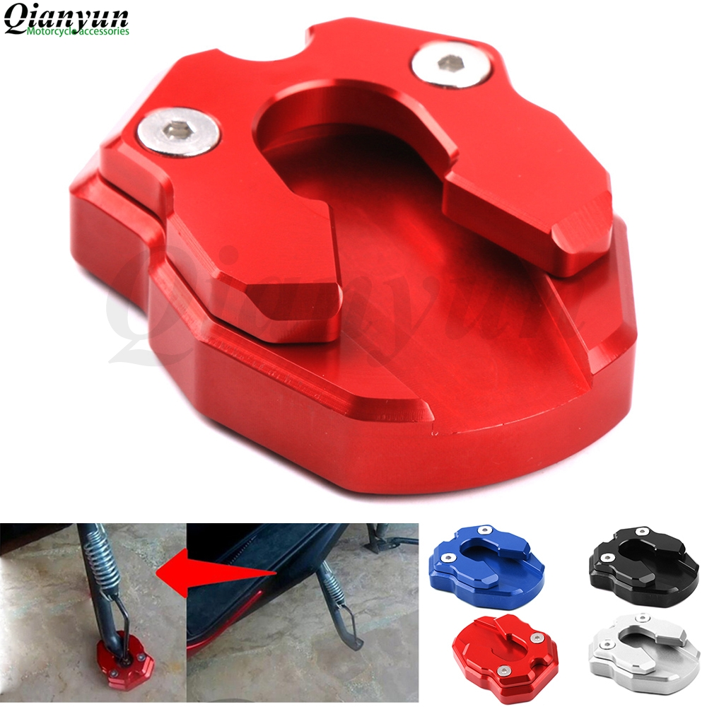 For YAMAHA NMAX 155 NMAX155 2015-2016 XMAX300 2017 2018 Scooter Accessories Kickstand Sidestand Stand Extension Enlarger Pad