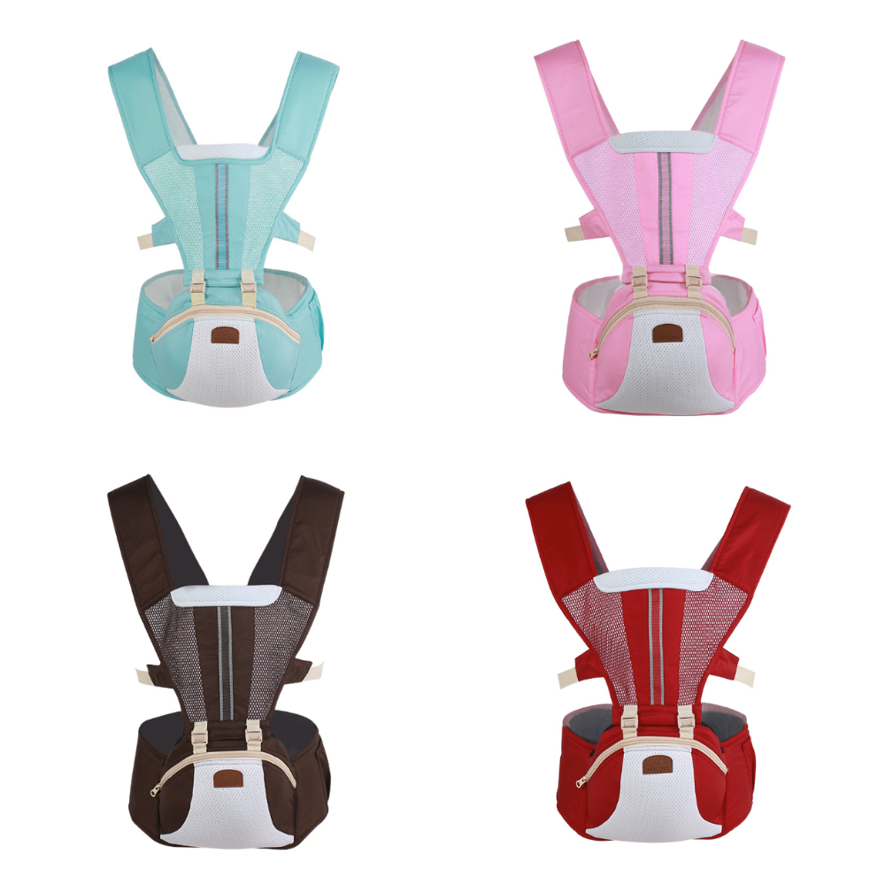 Ainuo Mi Baby Carrier Large Storage Summer Punched Sheet Front Holding Style Baby Children Waist Stool Belt Embrace Child Tool
