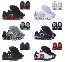 2021 nueva Shox TL amanecer Mens zapatos de baloncesto deportes atléticos zapatos NZ R4 hombre cojín de aire zapatillas de deporte Max tamaño 40-46