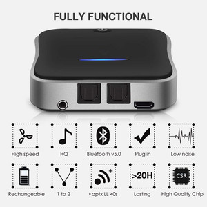 Image 5 - 2 In 1 Bluetooth 5.0 Receiver / Transmitter Digital Optical TOSLINKและ3.5มม.ไร้สายสำหรับทีวี/homeระบบสเตอริโอ