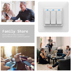 Image 4 - AVATTO Tuya Wifi Light Switch with wall socket, Smart Life APP Control, Smart Wall Switch 1/2/3 Gang Work with Alexa,Google Home